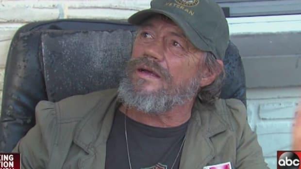 Veteran Ron Burden