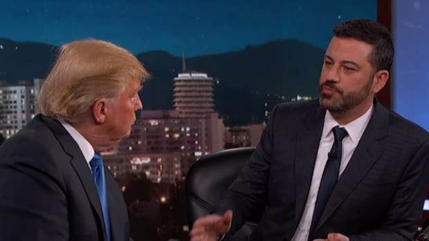 Jimmy Kimmel interview GOP candidate Donald Trump