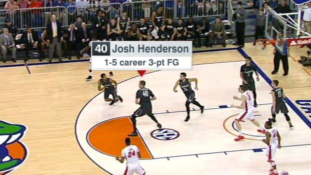 Vanderbilt Player Sinks 80-Foot Basket At Buzzer (Video) Promo Image