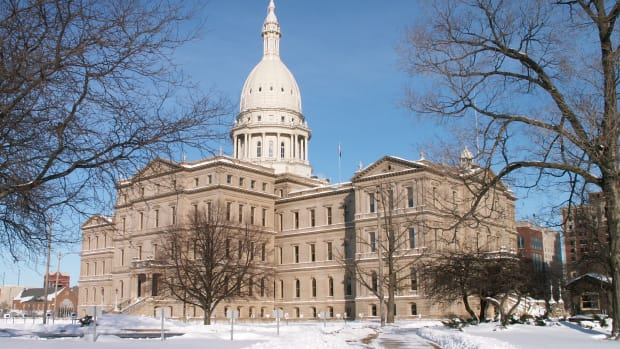 Michigan Capitol Building.