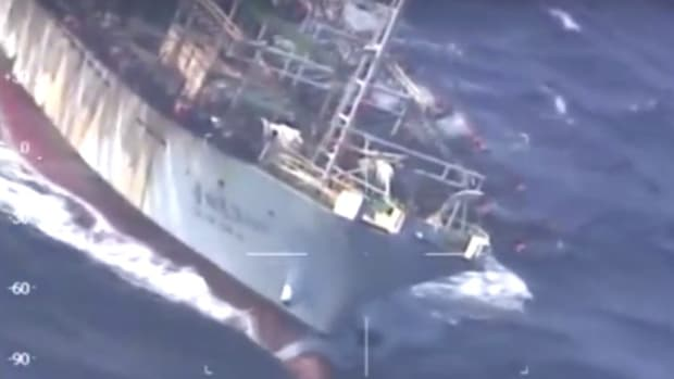 Argentina Shoots, Sinks Chinese Fishing Boat (Video) Promo Image