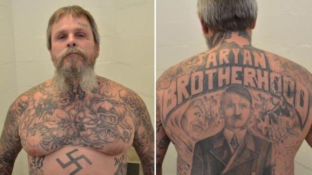 James Byrd, notorious gang leader of the Aryan Brotherhood