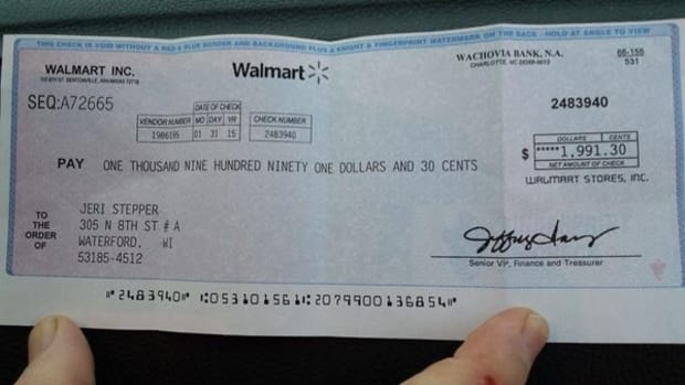 If You Get This Check From Walmart, Throw It Away ASAP Promo Image