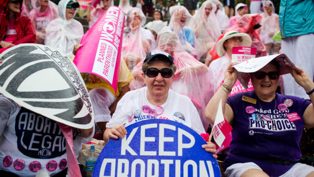 Keep abortion legal rally