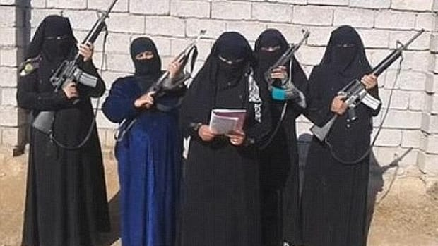 ISIS Female Police
