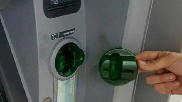 ATM skimmer device