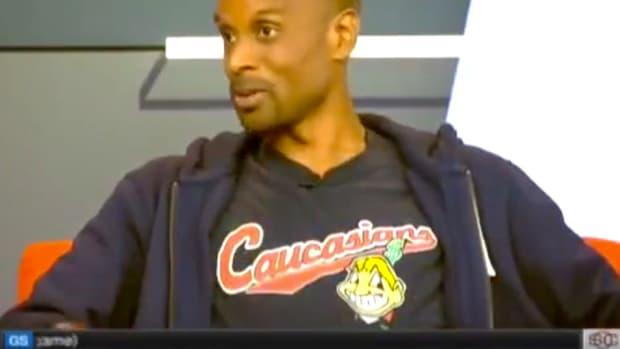 Black ESPN Host Wears 'Caucasians' Shirt (Video) Promo Image
