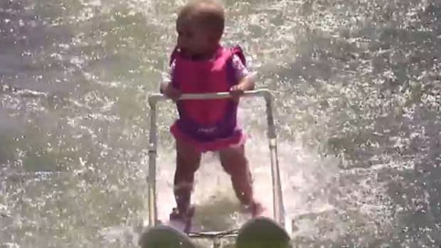 Water Skiing Baby Draws Controversy Online (Video) Promo Image