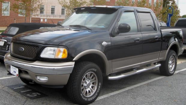 A Ford F-150 Pick-Up Truck.