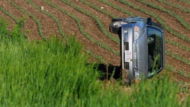 Spider Causes Rollover Crash In Ohio Field Promo Image