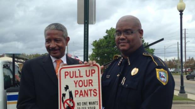 Police Chief Tyrone Stewart.