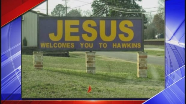 Jesus Welcomes You To Hawkins.