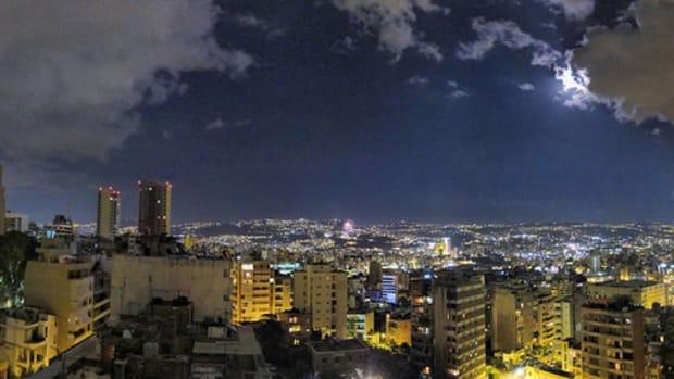 Beirut, Lebanon panaroma