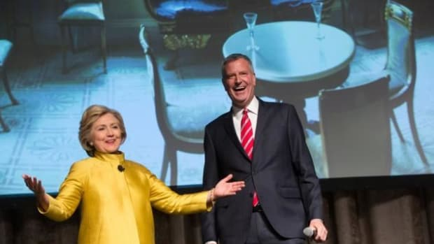 Clinton Under Fire For Racially-Charged Joke (Video) Promo Image
