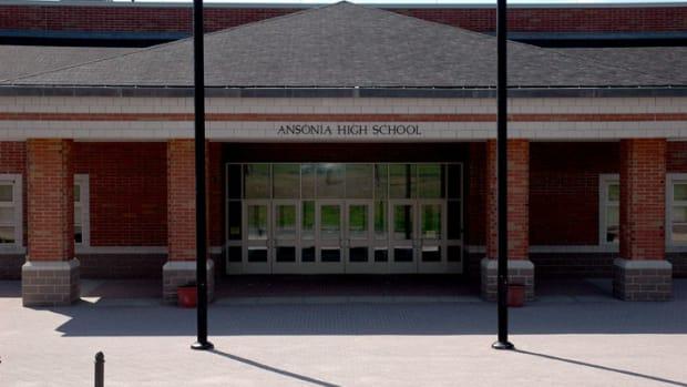 Ansonia High School Sign
