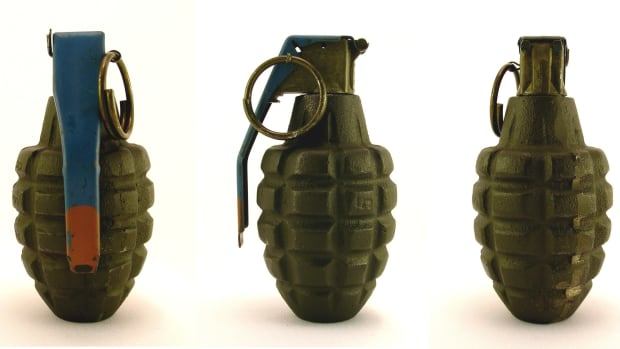 Goodwill Store Receives Grenade As Donation Promo Image
