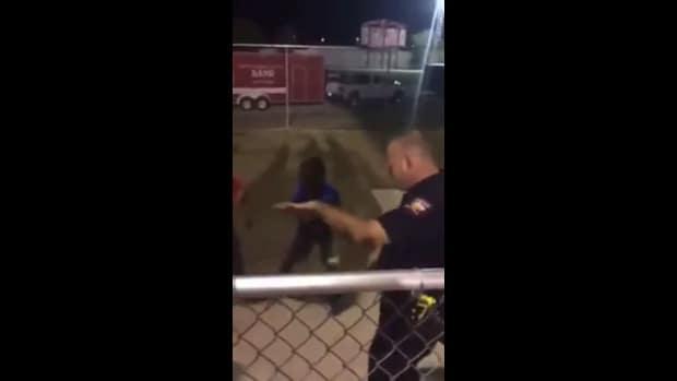 Officer Robert Gatewood Dances