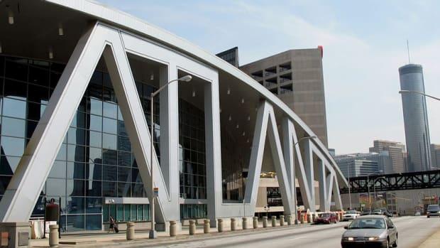 Phillips Arena in Atlanta, Georgia