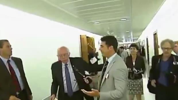 Bernie Sanders And Jesse Watters.