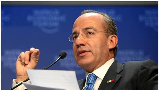 Former Mexico President Felipe Calderon