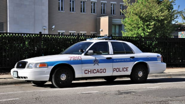 Chicago police cruiser