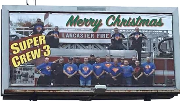 Merry Christmas billboard