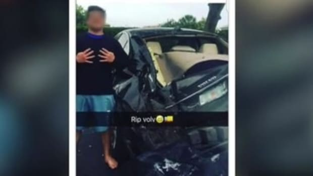 Widow Horrified By Teen's Photo Of Deadly Crash (Video) Promo Image
