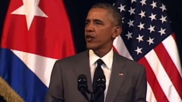 Obama, Trump Respond To Brussels Attacks (Video) Promo Image