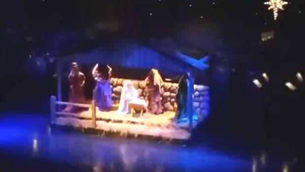Concord High School Nativity Scene
