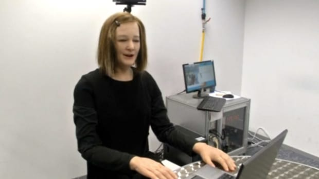 Human-Like Robot May Care For Dementia Patients (Video) Promo Image