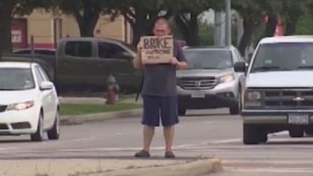 26-Year-Old Man Admits The Real Reason He's On The Street Panhandling (Photo) Promo Image