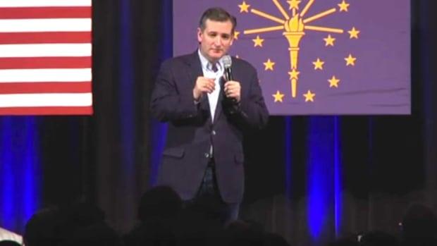 Cruz Advocates Spanking Young Protester (Video) Promo Image