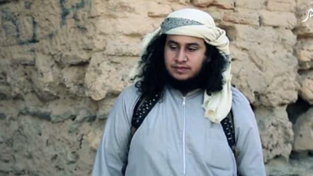 ISIS officer believed to be Abu Zaid al-Jazrawi