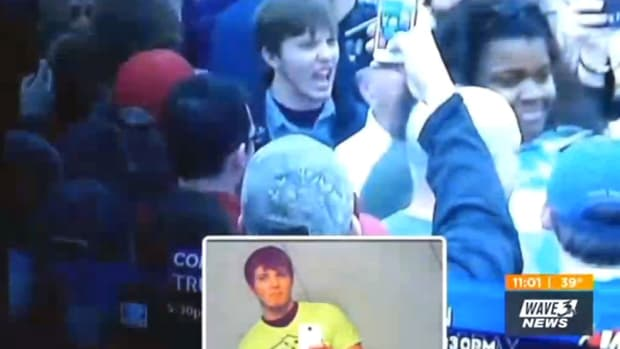 Man Kicked Out Of Marines For Trump Rally (Video) Promo Image