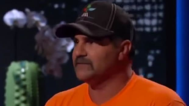 Naive Farmer Mocked During 'Shark Tank' Pitch (Video) Promo Image
