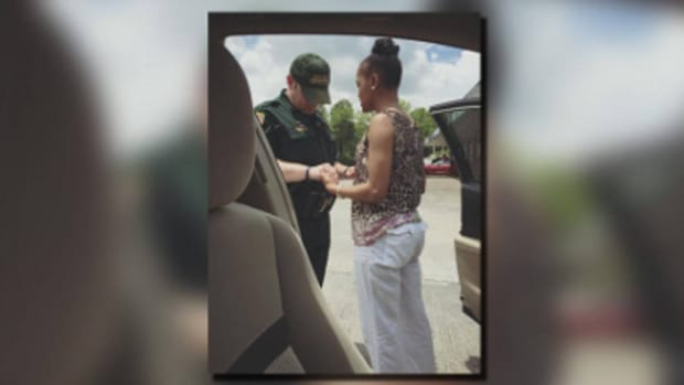 Driver Records Encounter Between White Cop, Black Woman (Photo)  Promo Image