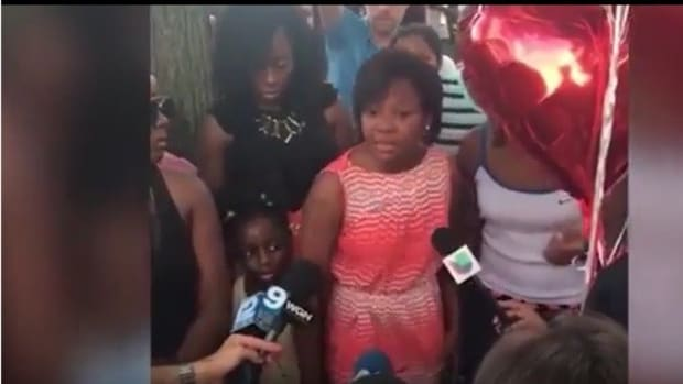 Shooting Victim's Sister Encourages Violence (Video) Promo Image