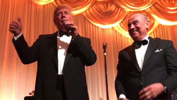 Trump Celebrated NYE With Felon, Alleged Mob Ties (Video) Promo Image