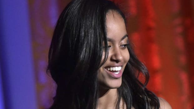 Malia Obama Acts Casual As Star Admits She's His Crush (Video) Promo Image