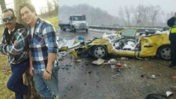 Man Arrives At Scene Of Family's Devastating Car Wreck, Makes Unexpected Discovery (Photo) Promo Image
