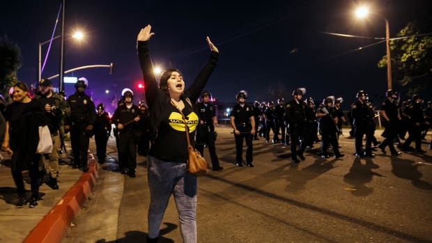 Protest Erupts Over Cop's Handling Of Scuffle With Teens (Video) Promo Image
