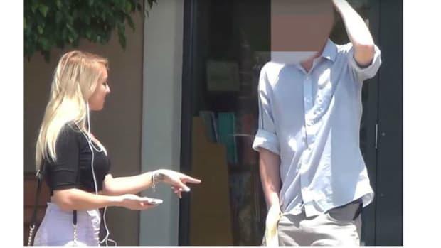 Girlfriend's Plan To 'Test' Boyfriend With Porn Star Backfires (Video) Promo Image