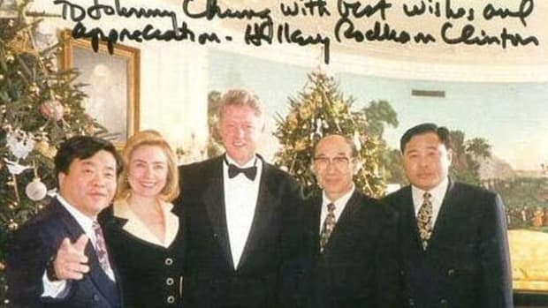 Secret Tape Of Illegal Fundraiser For Clintons Surfaces (Video) Promo Image
