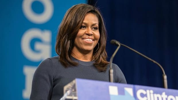 Michelle Obama's Subtle Fashion Statement At Farewell (Photo) Promo Image