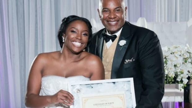 Bridge Gives Dad Creepy Certificate On Her Wedding Day Promo Image