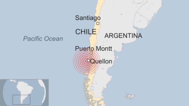 7.7 Magnitude Earthquake Strikes Coast Of Chile Promo Image