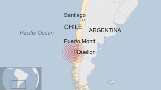 7.7 Magnitude Earthquake Strikes Coast Of Chile Promo Image