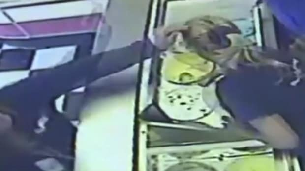 Michigan Mom Accused Of Hitting Ice Cream Worker (Video) Promo Image