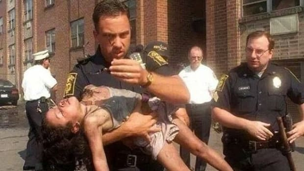 Cop Learns What Happened To Little Girl He Saved 18 Years Ago (Photos) Promo Image