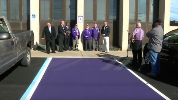 Here's Who Uses Purple Parking Spots (Video) Promo Image
